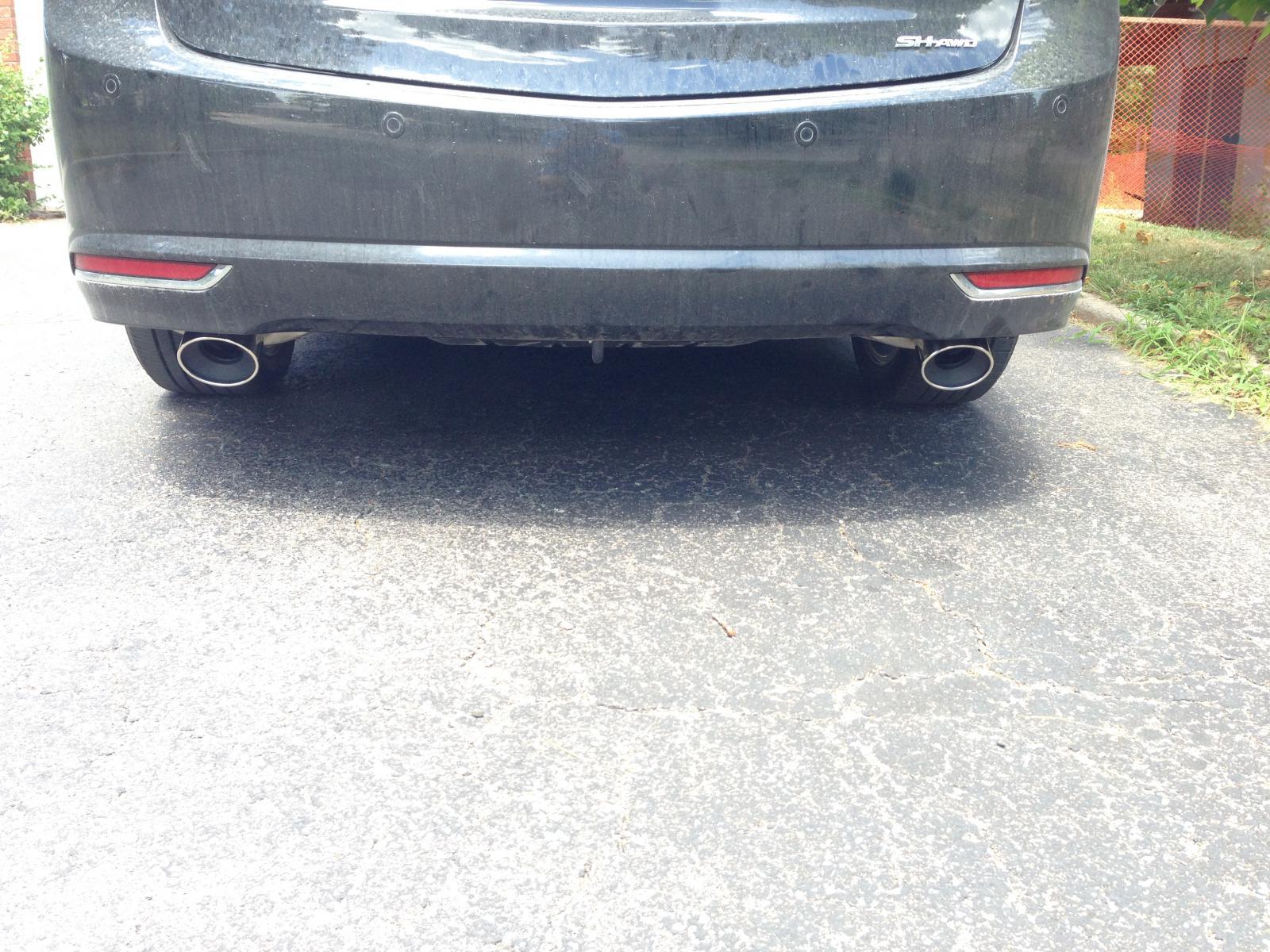 my diy exhaust acura tlx forum