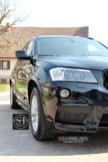 BMW X3 mit einer Schicht servFaces Suave versiegelt von TM-Fahrzeugpflege
