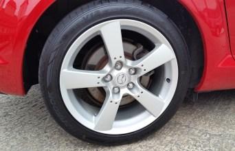 Mazda RX8 - Ceramic-Versiegelung Felgen von Fahrzeugpflege Massler