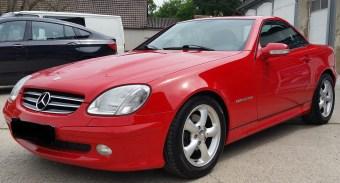 Mercedes SLK mit Servfaces Suave versiegelt von Fahrzeugpflege Massler