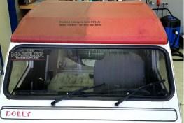 Verdeck Ente DOLLY gereinigt - von Fahrzeugpflege Massler