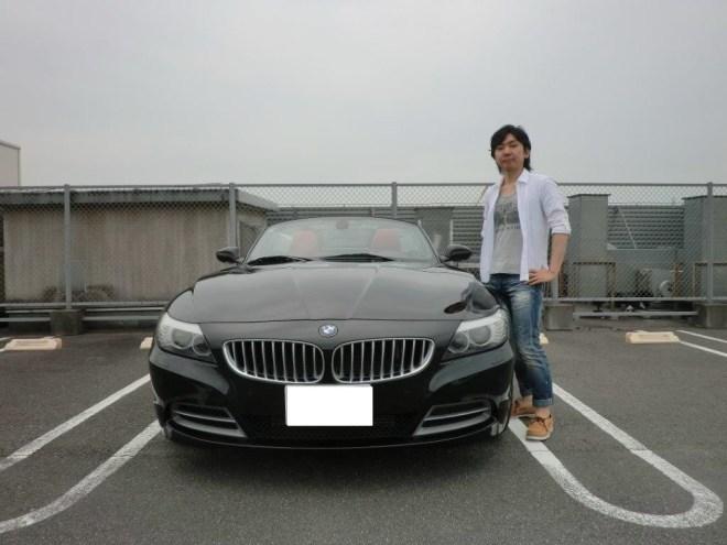 埼玉県越谷市BMW Z4 sDrive35iお医者様