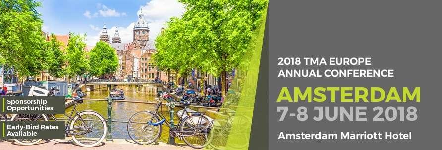 Conferenza Annuale TMA: Amsterdam 7-8 giugno 2018