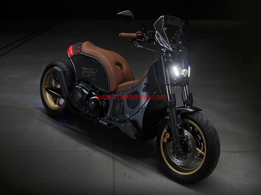 Yamaha T Max 500 modificato da Unikat Motorworks
