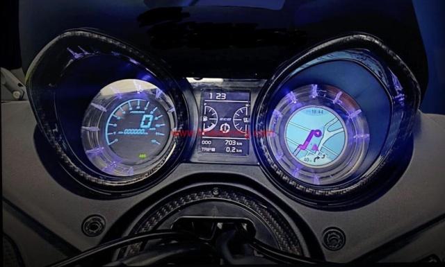 Display digitale T Max 560 2020
