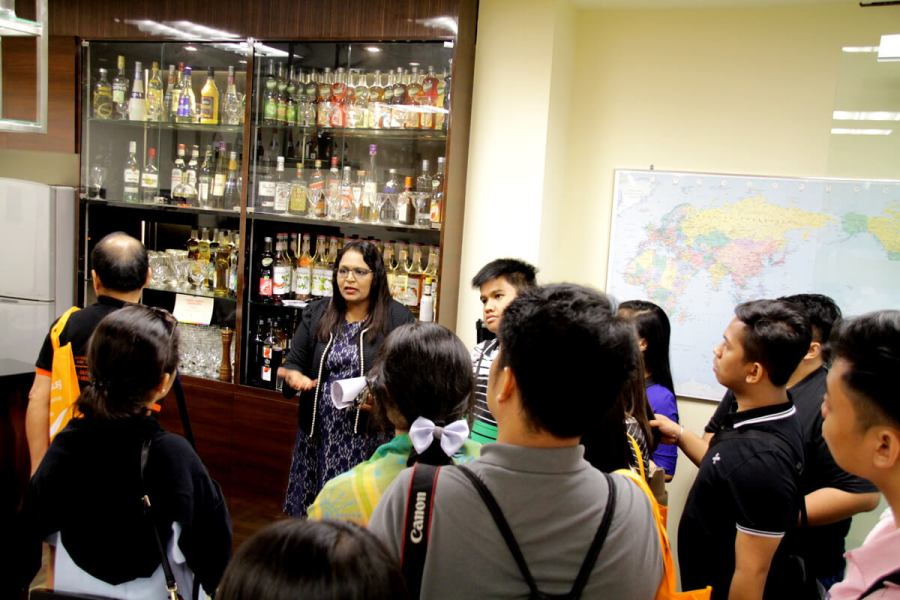 TMC Academy Tour - Food and Beverages Training Room
