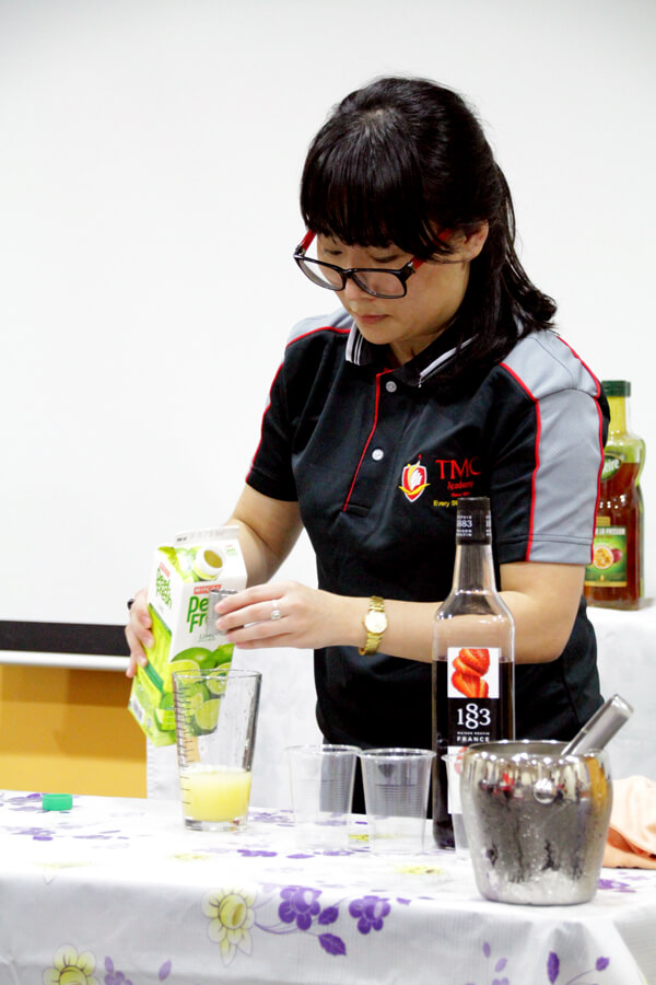 Jin Yan @ TMC The Art Of Mixology Mocktail Competition