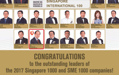 As seen in The Business Times: TMC Academy receives 2017 SME 1000 and SME 1000 Companies Award