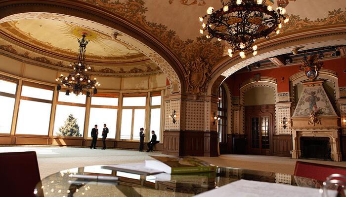 Swiss Hotel Management School Hall Mont Blanc
