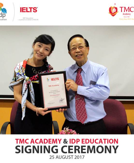 TMC Academy and IDP Education MOU Signing Ceremony