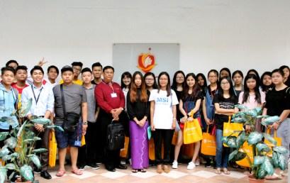 Myanmar Students Visit