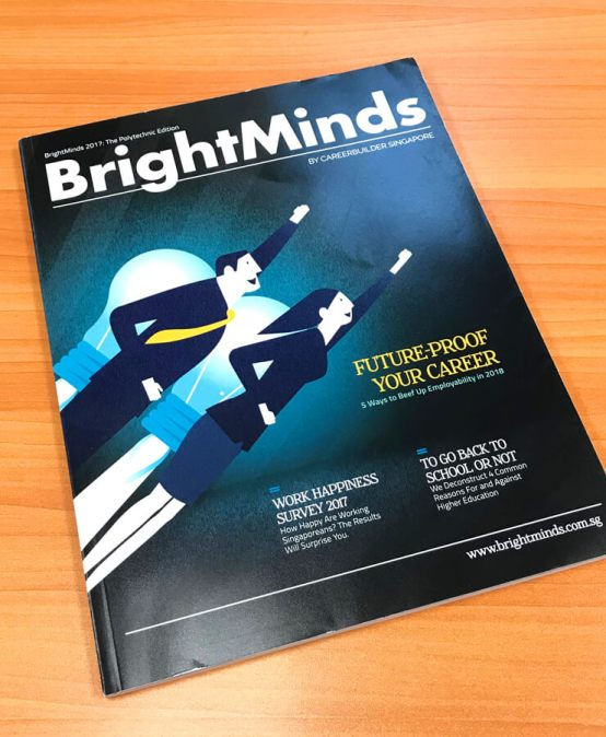 TMC Academy Students Feature in BrightMinds Magazine