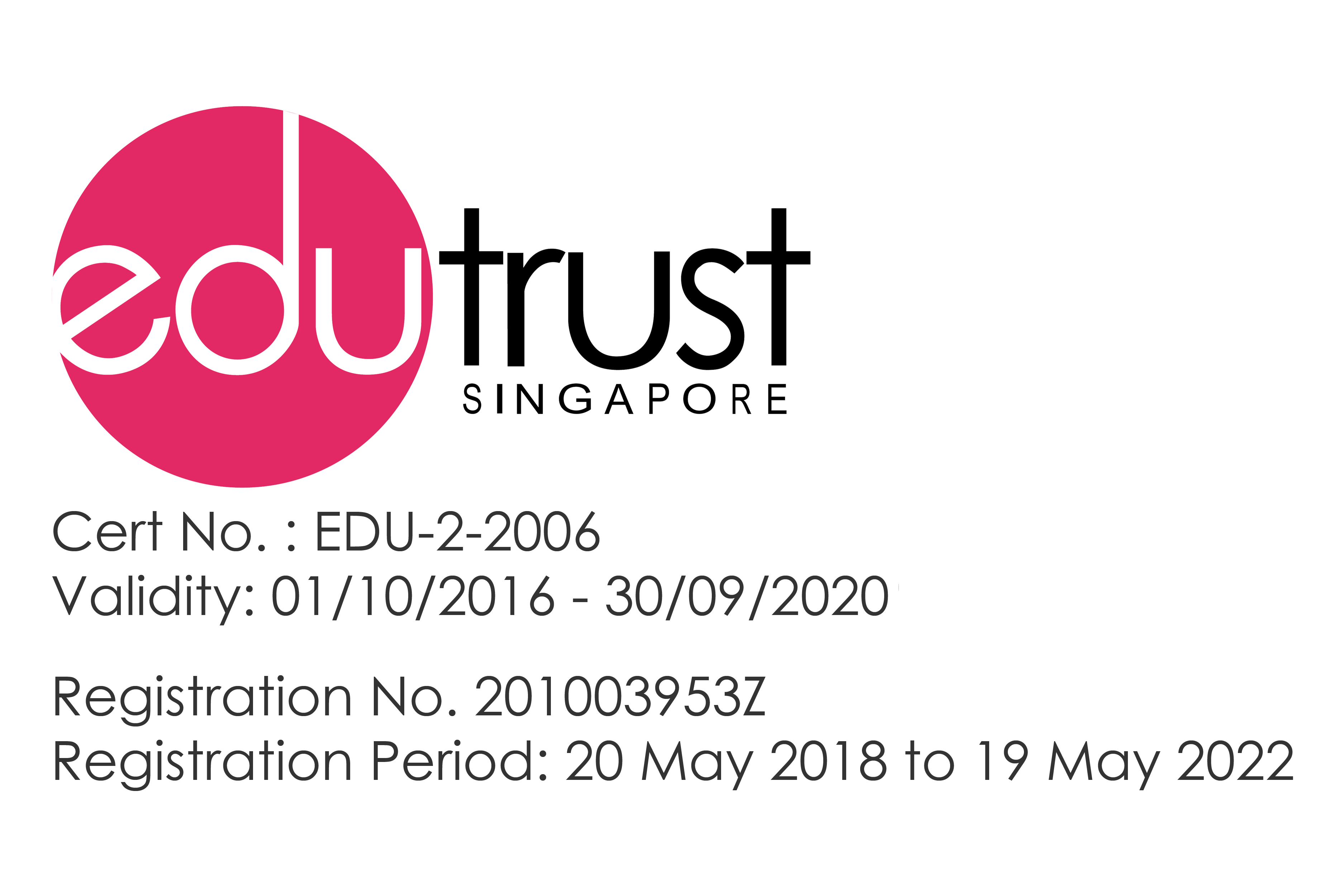 TMC Academy EduTrust Certification 2018