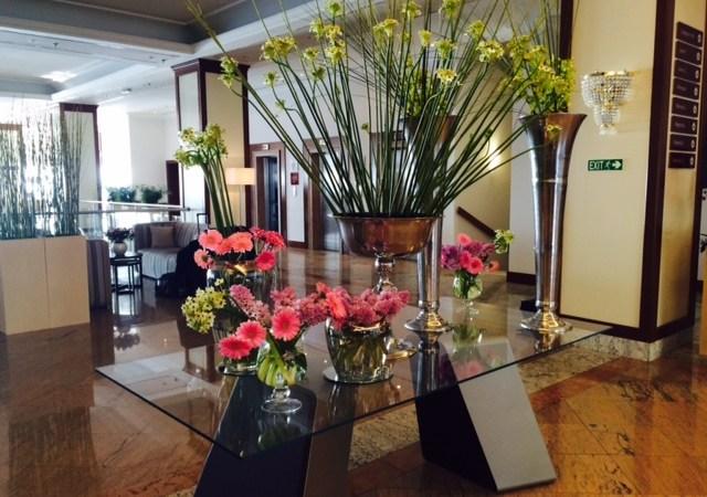 Lobby of 5 star Remisens Premium Hotel Ambasador ©Johanna Fischer