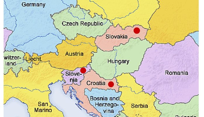 Meetings in Slovenia, Slovakia or Slavonia! Getting confused?