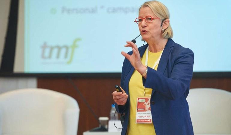 Johanna Fischer, managing director, tmf dialogue marketing