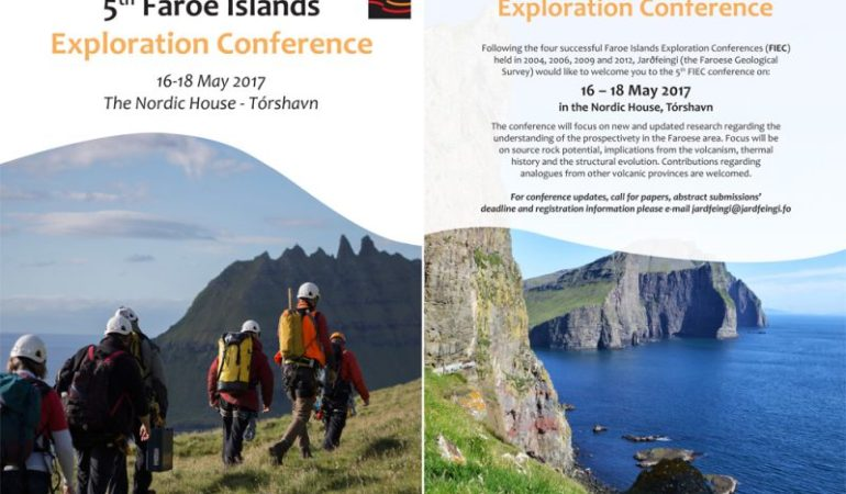 5th Faroe Islands Exploration Conference to take place in Tórshavn