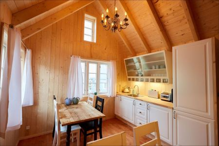 New wooden cottage at the Hotel Hafnia ©Hotel Hafnia
