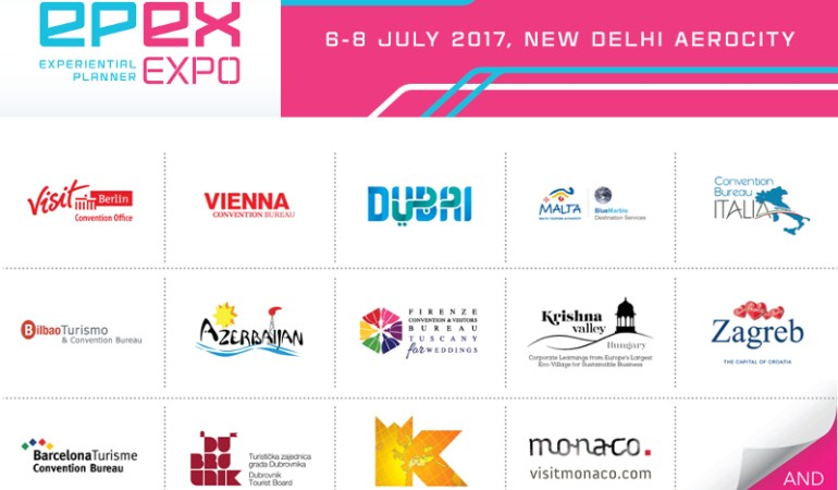 More than 40 destination partners exhibiting at EPEX at New Delhi Aerocity