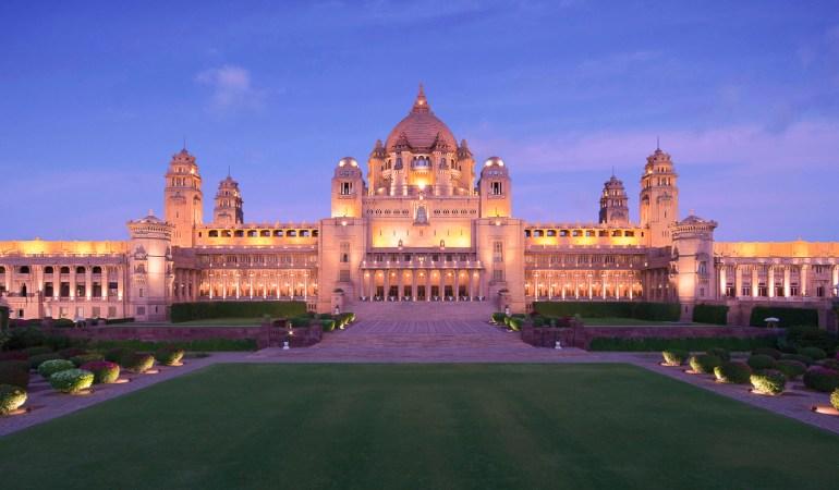Umaid Bhawan Palace Jodhpur; Picture ©Taj Hotels