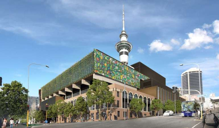 Photo ©New Zealand International Convention Centre