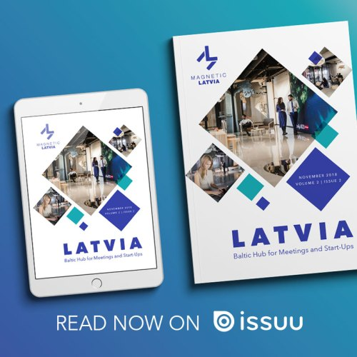 Latvia Digital Magazine November 2018 Banner