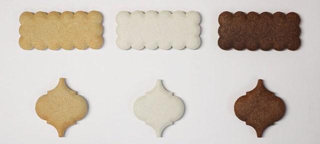 クッキータイル 完成品