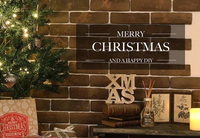 簡単DIYで素敵なクリスマスを♪