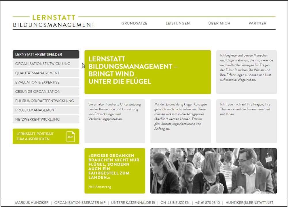 Lernsatt  Bildungs Management