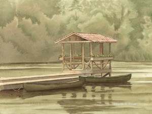 Boat House with Dock