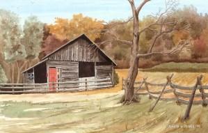 See Rock City Watercolor by David Jones