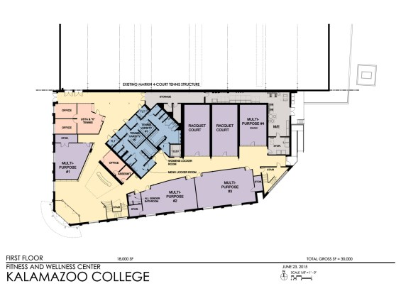 Kalamazoo College - Floor Plan 1