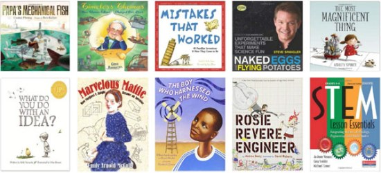 Literature included in the STEM learning trunk