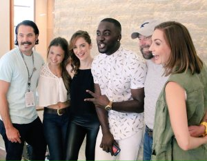 Cast of Wynonna Earp at SDCC 2016