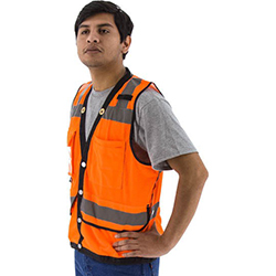 High Visibility Heavy Duty Mesh Vest, ANSI 2, R
