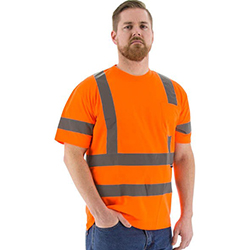 High Visibility Short Sleeve Shirt, ANSI 3, R