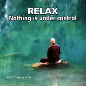 Relax: Nothing is under control.