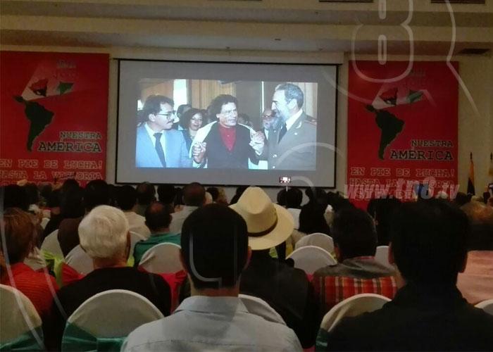 nicaragua, fidel castro, revolucion cubana, legado, foro de sao paulo,