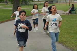Kids Running Afterschool