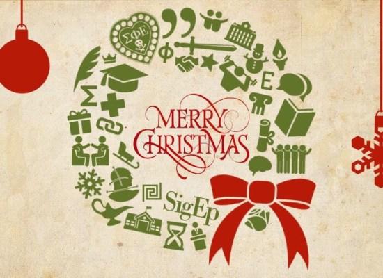Merry SigEp Christmas