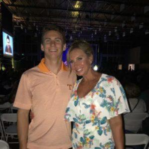 Justin Cowan and Mom