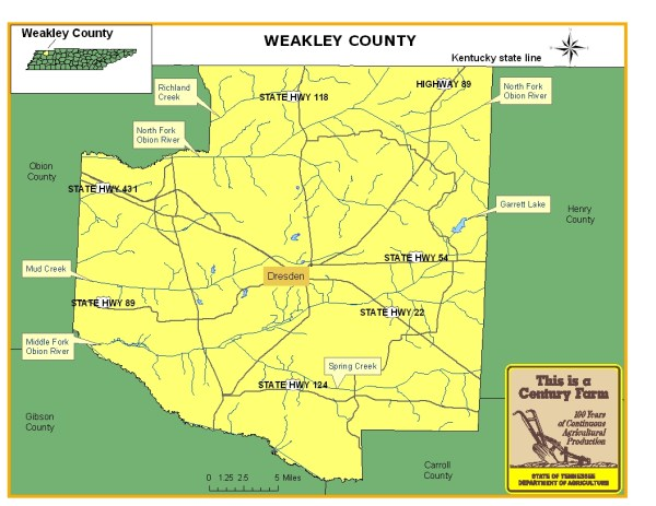 Weakley County   Tennessee Century Farms