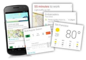 Google does cards with its Google Now product