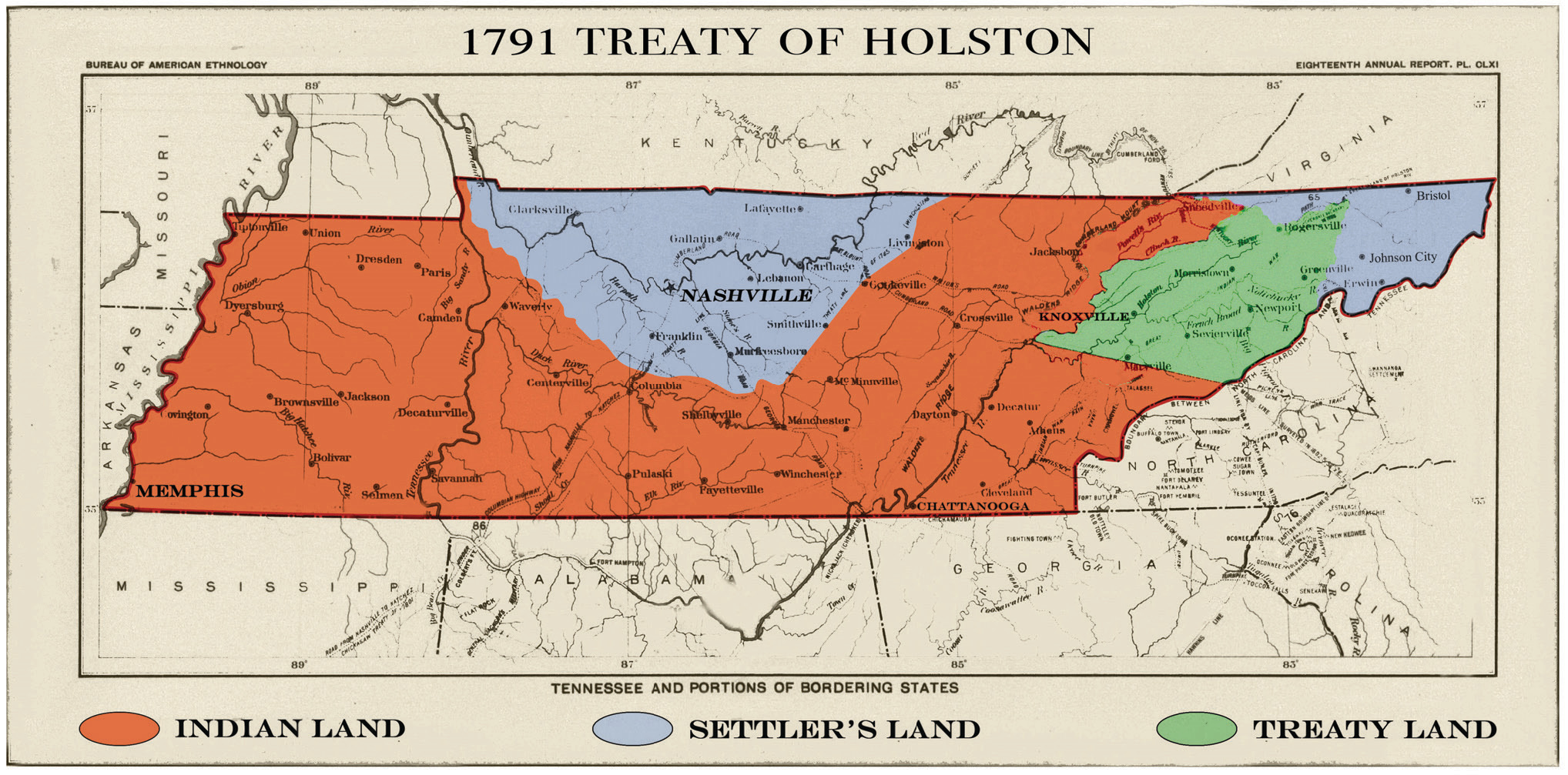 Tennessee Was The Wild Frontier When It Became A State