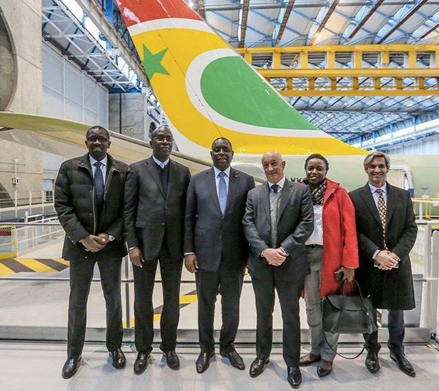 Air Sénégal - lancement de la ligne Paris-Dakar