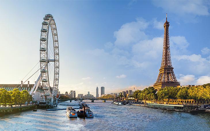 Londres et Paris