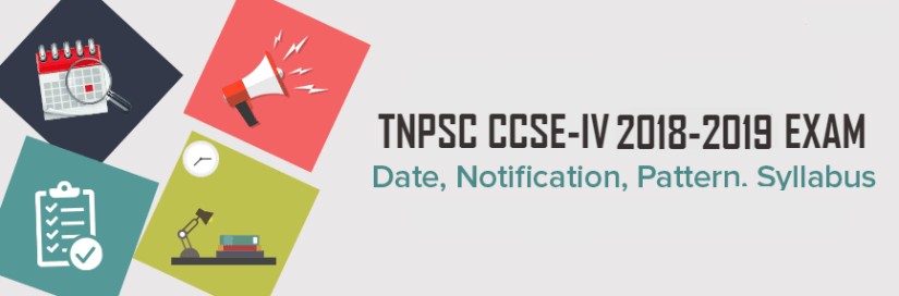 TNPSC CCSE 4 Notification Deatils