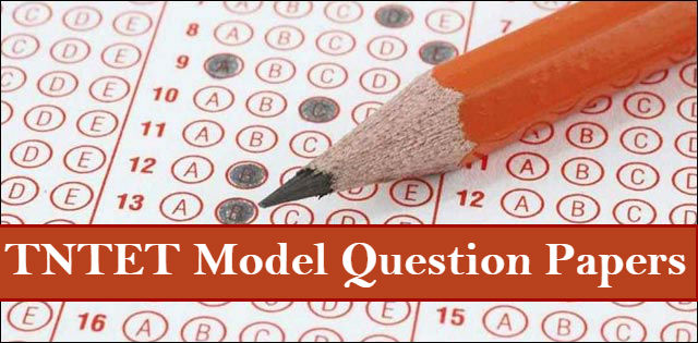 Download links of TNTET Model Question Paper