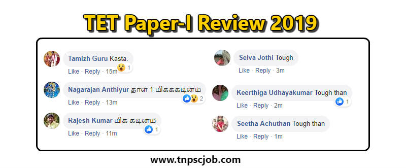 TNTET Paper 1 Review 2019