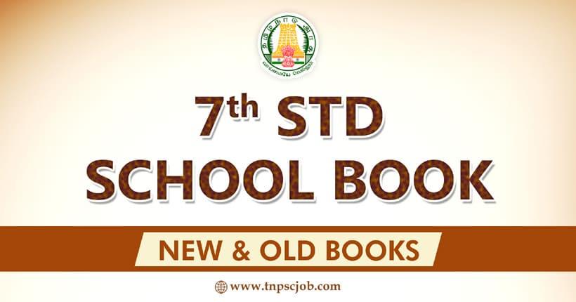 Samacheer Kalvi 7th Std Books in Tamil and English